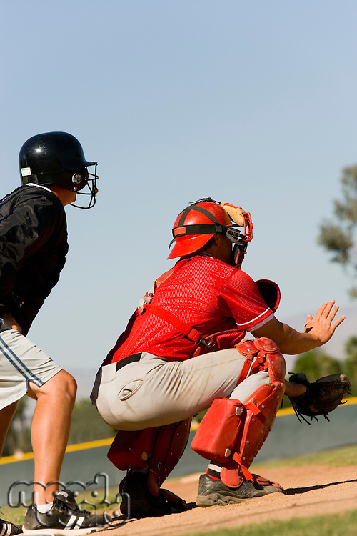 Catcher and Umpire
