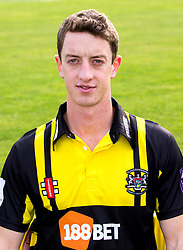 Will Tavare of Gloucestershire Cricket poses for a headshot in the Royal London One Day Cup kit - Mandatory by-line: Robbie Stephenson/JMP - 04/04/2016 - CRICKET - Bristol County Ground - Bristol, United Kingdom - Gloucestershire  - Gloucestershire Media Day