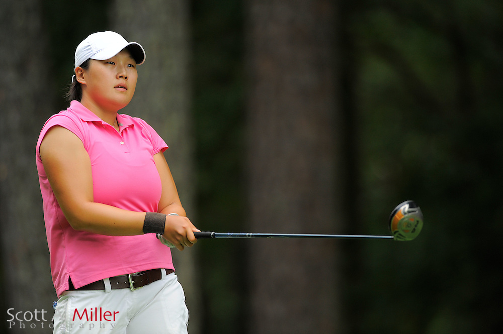 Jacey Chun during the Symetra Tour's Eagle Classic at the Richmond Country Club on August 18, 2012 in Richmond, Va...©2012 Scott A. Miller.