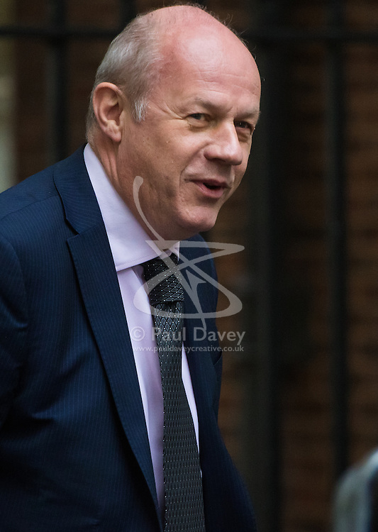 Downing Street, London, October 18th 2016. Work and Pensions Secretary Damian Green arrives at the weekly cabinet meeting at 10 Downing Street in London.