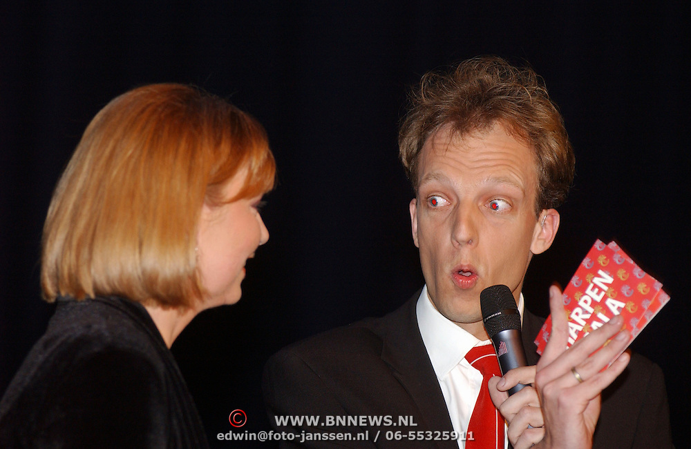 Harpengala 2003, Sjors Frohlich en Jerney Kaagman