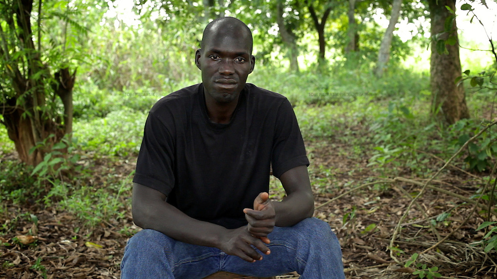 Still from Tom Pietrasik film from Uganda In Kony's Shadow: Norman Okello's Story. 2013