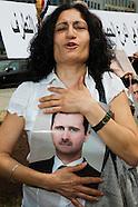 20110520 Pro Assad Demonstration