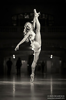 Dance As Art The New York Photography Project Black and white Grand Central Series with Mykaila Symes