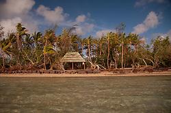 Shelter at Channel Beach, Turtle Island, Yasawa Islands, Fiji