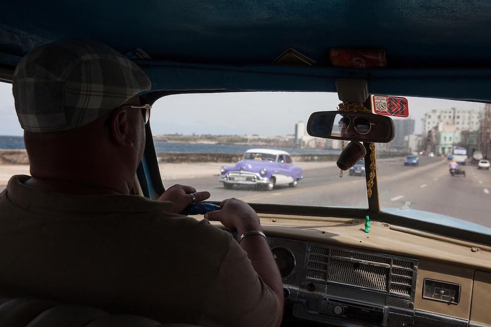 Taxi in Havana, Cuba.