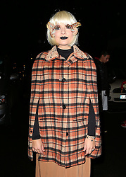 Holly Willoughby at Jonathan Ross's Halloween party at his house in London, UK. 31/10/2013<br />BYLINE MUST READ : JAMESY/GOTCHA IMAGES<br /><br />Copyright by © Gotcha Images Ltd. All rights reserved.<br />Usage of this image is conditional upon the acceptance <br />of Gotcha Images Ltd, terms and conditions available at<br />www.gotchaimages.com