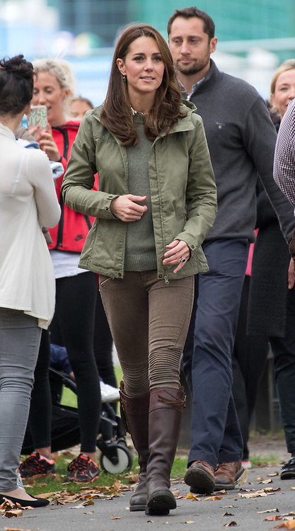 The Duchess of Cambridge during her visit to the Sayers Croft Forest School and Wildlife Garden at Paddington Recreation Ground, London.