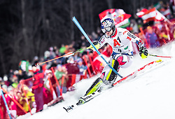 "29.01.2019, Planai, Schladming, AUT, FIS Weltcup Ski Alpin, Slalom, Herren, 1. Lauf, im Bild Alexis Pinturault (FRA) // Alexis Pinturault of France in action during his 1st run of men's Slalom ""the Nightrace"" of FIS ski alpine world cup at the Planai in Schladming, Austria on 2019/01/29. EXPA Pictures © 2019, PhotoCredit: EXPA/ JFK"