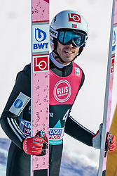 15.03.2018, Granasen, Trondheim, NOR, FIS Weltcup Ski Sprung, Raw Air, Trondheim, im Bild Andreas Stjernen (NOR) // Andreas Stjernen of Norway during the 3rd Stage of the Raw Air Series of FIS Ski Jumping World Cup at the Granasen in Trondheim, Norway on 2018/03/15. EXPA Pictures © 2018, PhotoCredit: EXPA/ JFK