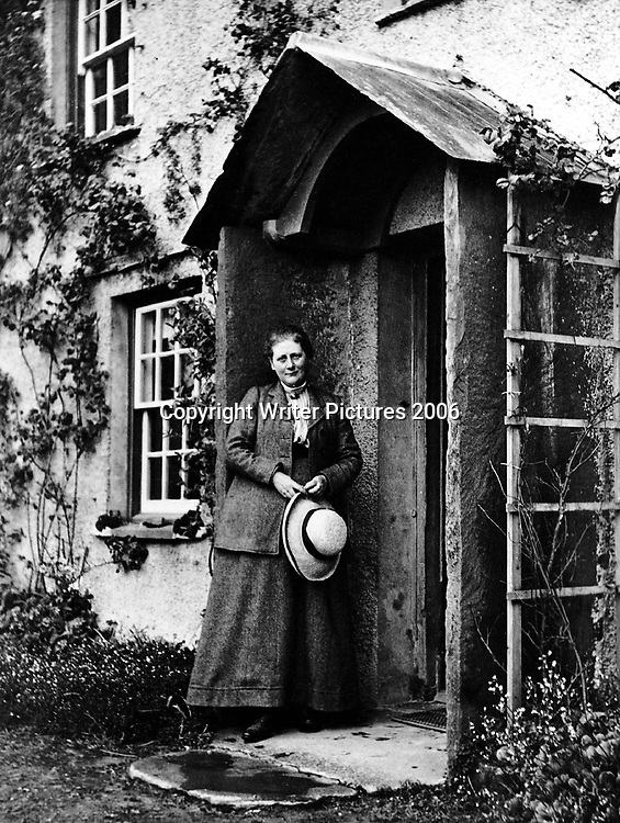 Picture Shows: Beatrix Potter.  In The Tale of Beatrix Potter, Libby Purves is our guide through the inspirations for Beatrix Potter and her stories.  <br /> <br />PHOTOGRAPH (C): Penguin Books<br />TX: BBC Radio 4<br />Thursday 10 October 2002 @ 11.30<br />WARNING: This copyright image may be used only to publicise current BBC programmes or other BBC output.  Any other use whatsoever without specific prior approval from the BBC may result in legal action.