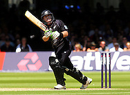 Photo © ANDREW FOSKER / SECONDS LEFT IMAGES 2008  - Scott Styris watches another shot sail to the boundary on his way to 87 not out -  England v New Zealand Black Caps - 5th ODI - Lord's Cricket Ground - 28/06/08 - London -  UK - All rights reserved