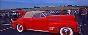 Refurbished 1940s classic convertible, Hershey Classic Auto Show, PA