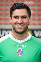 Theo Defourny pictured during the 2015-2016 season photo shoot of Belgian first league soccer team Royal Mouscron Peruwelz, Thursday 16 July 2015 in Mouscron.