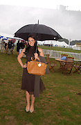 Martine McCutcheon. Cartier International Day at Guards Polo Club, Windsor Great Park. July 24, 2005. ONE TIME USE ONLY - DO NOT ARCHIVE  © Copyright Photograph by Dafydd Jones 66 Stockwell Park Rd. London SW9 0DA Tel 020 7733 0108 www.dafjones.com