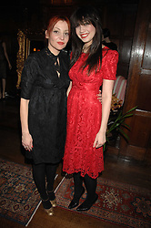 Left to right, PEARL LOWE and her daughter DAISY LOWE  at a tea party to launch Pearl Lowe's Spring 2007 fashion collection held at Libery, Great Marlborough Street, London on 20th March 2007.<br />