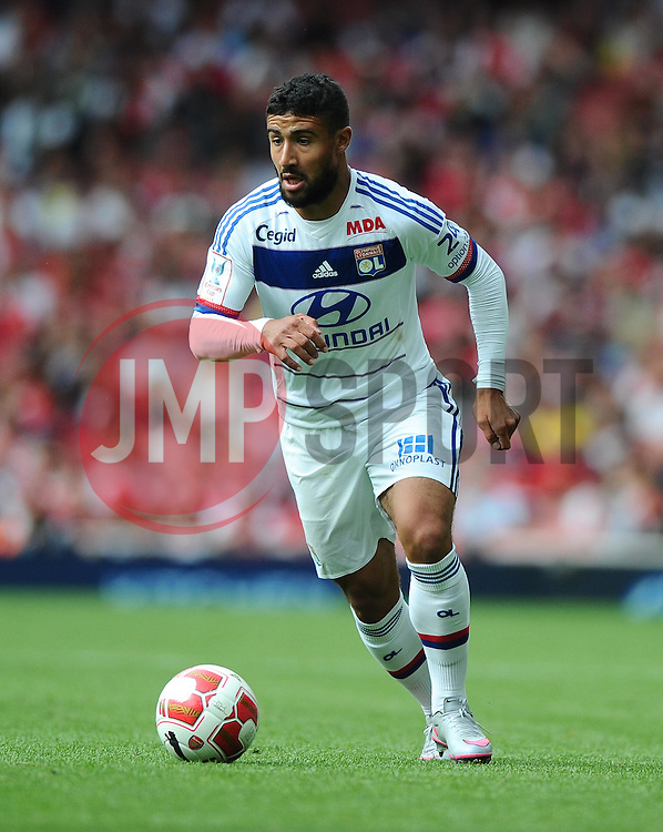 Nabil Fekir of Lyon  - Mandatory by-line: Joe Meredith/JMP - 25/07/2015 - SPORT - FOOTBALL - London,England - Emirates Stadium - Arsenal v Lyon - Emirates Cup