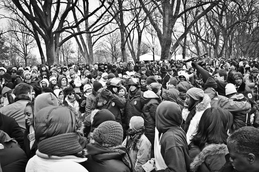 We Are One: The Obama Inaugural Celebration at the Lincoln Memorial was a public celebration of the then forthcoming inauguration of Barack Obama as the 44th President of the United States at the Lincoln Memorial and the National Mall in Washington, D.C., on January 18, 2009.