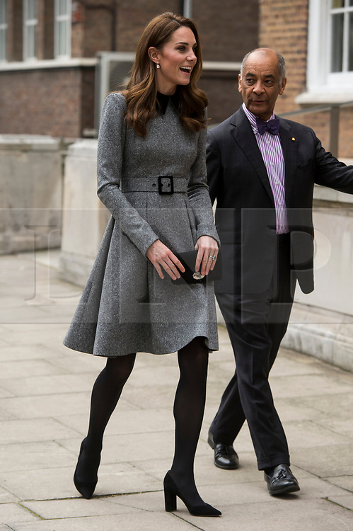 © Licensed to London News Pictures. 19/03/2019. London, UK. Kate, Duchess of Sussex visits The Foundling Museum to understand how they use art to make a positive contribution to society by engaging with vulnerable and marginalised young people. Photo credit: Ray Tang/LNP