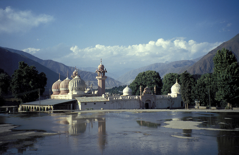 A mosque in Chitral on the border of Afghanistan,Chitral, Chitral region, Pakistan,Asia