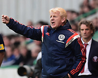 05/06/15 INTERNATIONAL CHALLENGE MATCH<br /> SCOTLAND v QATAR<br /> EASTER ROAD STADIUM - EDINBURGH<br /> Scotland manager Gordon Strachan