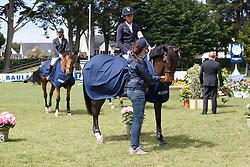 Allen Bertram, (IRL), Wild Thing L<br /> Winner of the Derby Laiterie de Montage - Region Pays de La Loire<br /> Longines Jumping International de La Baule 2015<br /> © Hippo Foto - Dirk Caremans<br /> 16/05/15
