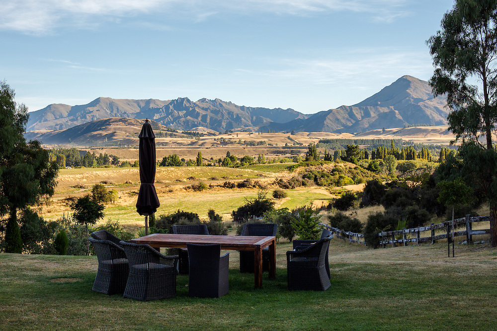 Another Sunset View from Riverrun Lodge, Wanaka, New Zealand