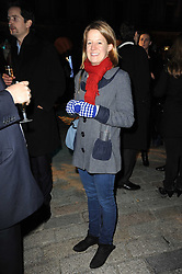 LAURA FELLOWES at a Winter Party given by Tiffany & Co. Europe to launch the 10th season of Somerset House's Ice Skating Rink at Somerset House, The  Strand, London on 16th November 2009.