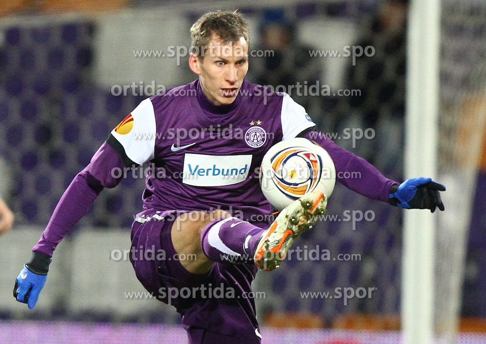 15.12.2011, Generali Arena, Wien, AUT, UEFA EL, Gruppe G, FK Austria Wien (AUT) vs Malmoe FF (SWE), im Bild Florian Klein, (FK Austria Wien, #7) // during the football match of UEFA Europa League, Group F, between FK Austria Wien (AUT) and Malmoe FF (SWE) at Generali Arena, Wien, Austria on 15/12/2011. EXPA Pictures © 2011, PhotoCredit: EXPA/ T. Haumer