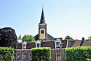 Nederland, Wijchen, 27-5-2012Dorpsgezicht vanaf de markt naarde antonius abt kerk.Foto: Flip Franssen