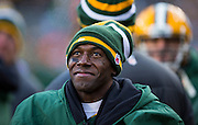 GREEN BAY, WI - DECEMBER 23: Donald Driver #90 of the Green Bay Packers on the sidelines against theTennessee Titans at Lambeau Field on December 23, 2012 in Green Bay, Wisconsin.  (Photo by Tom Lynn /Getty Images) *** Local Caption ***  Donald Driver