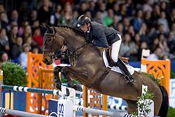 Clemens Pieter, BEL, Lillebebegaards Amaflair<br /> Jumping Amsterdam 2019<br /> © Hippo Foto - Dirk Caremans<br /> 25/01/2019
