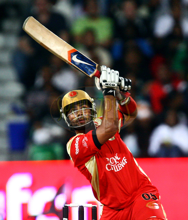 DURBAN, SOUTH AFRICA - 1 May 2009.  during the IPL Season 2 match between Kings X1 Punjab and the Royal Challengers Bangalore held at Sahara Stadium Kingsmead, Durban, South Africa..