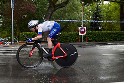 Coralie Demay (FRA) at La Madrid Challenge by La Vuelta 2019 - Stage 1, a 9.3 km individual time trial in Boadilla del Monte, Spain on September 14, 2019. Photo by Sean Robinson/velofocus.com