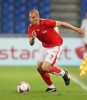 Fussball International Laenderspiel Oesterreich - Venezuela Emanuel Pogatetz (AUT)