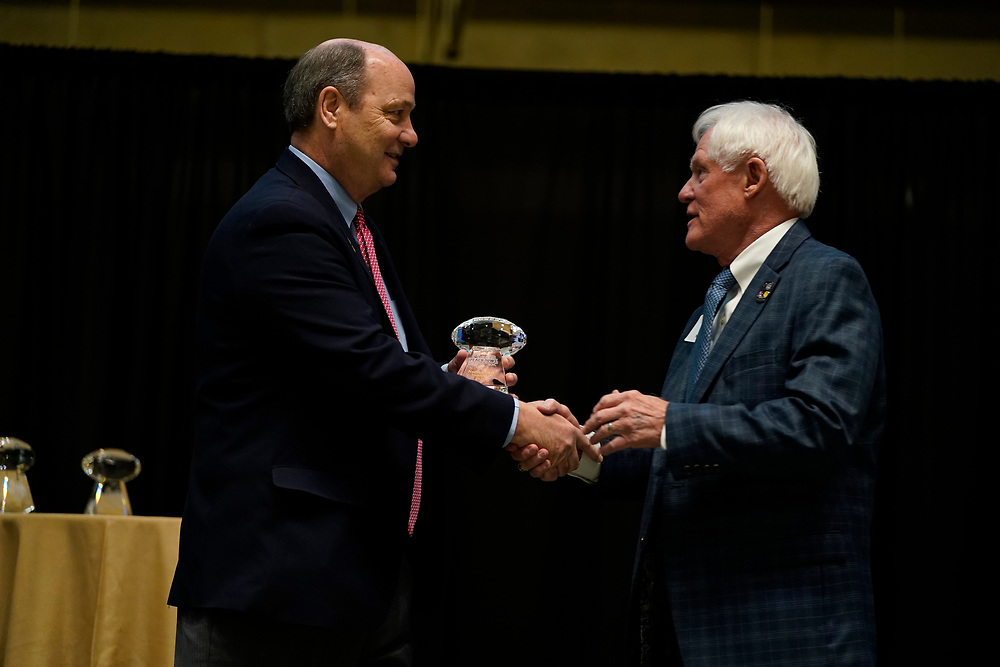 General images during the Peach Bowl Hall of Fame dinner on Friday, Dec. 27, in Atlanta. (Paul Abell via Abell Images for the Chick-fil-A Peach Bowl)