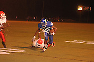 Water Valley's L.J. Hawkins (10) vs. Coffeeville in Coffeeville, Miss. on Friday, August 24, 2012. Water Valley won.