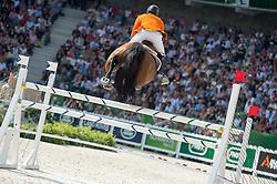 Jeroen Dubbeldam, (NED), Orient Express HDC - Show Jumping Final Four - Alltech FEI World Equestrian Games™ 2014 - Normandy, France.<br /> © Hippo Foto Team - Jon Stroud<br /> 07/09/2014