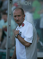Photo: Lee Earle.<br /> Plymouth Argyle v Cardiff City. Coca Cola Championship. 15/09/2007. Plymouth manager Ian Holloway.
