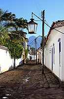 beautiful portuguese colonial typical town of parati in rio de janeiro state brazil