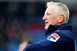COLCHESTER, ENGLAND - Saturday, February 23, 2013: Tranmere Rovers' manager Ronnie Moore during the Football League One match against Colchester United at the Colchester Community Stadium. (Pic by Vegard Grott/Propaganda)