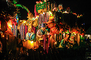 This is the Endymion  Mardi Gras parade in New Orleans. ©Kathy Anderson, All Rights Reserved
