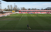 The Checkatrade.com Stadium before the Sky Bet League 2 match between Crawley Town and Notts County at the Checkatrade.com Stadium, Crawley, England on 16 January 2016. Photo by David Charbit.
