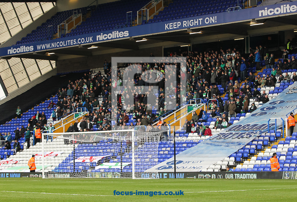 Picture by Tom Smith/Focus Images Ltd 07545141164<br /> 18/01/2014<br /> Yeovil Town fans before the Sky Bet Championship match at St Andrews, Birmingham.
