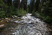 Cascade Creek on Jenny Lake Trail, at Grand Teton National Park, Wyoming