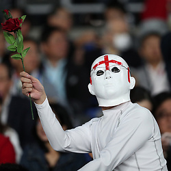 General views of fans during the Rugby World Cup Final match between South Africa Springboks and England Rugby World Cup Final at the International Stadium Yokohama  Japan.Saturday 02 November 2019. (Mandatory Byline -Steve Haag Sports Hollywoodbets)