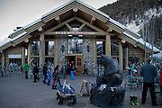 River Run Day Lodge, Bald Mountain, Sun Valley, Idaho, US