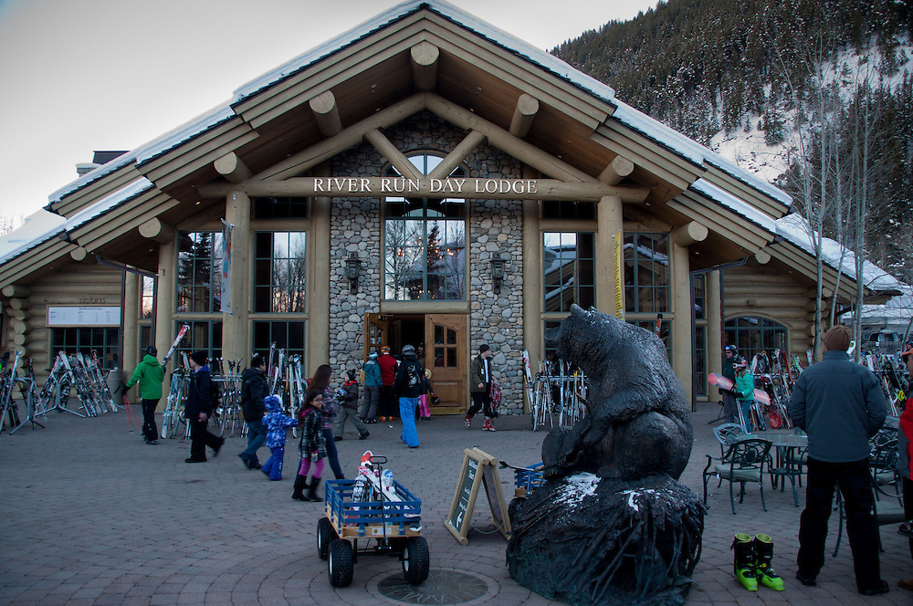 River Run Day Lodge, Bald Mountain, Sun Valley, Idaho, US