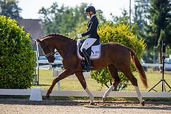 FRANK Tessa (GER), Be my Hit <br /> Reitpferde-Championat Finale 3j. Hengste<br /> Verden - Verdener Championate 2020<br /> 08. August 2020<br /> © www.sportfotos-lafrentz.de/Stefan Lafrentz
