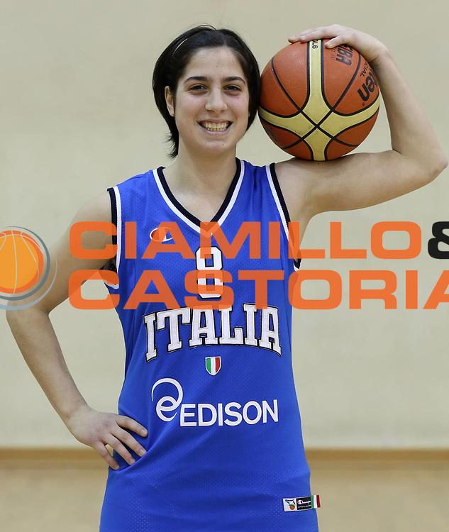 DESCRIZIONE : Roma Acqua Acetosa ritiro collegiale amichevole Nazionale Italia Donne<br /> GIOCATORE : Francesca Dotto<br /> CATEGORIA : ritratto<br /> SQUADRA : Nazionale Italia femminile donne FIP<br /> EVENTO : amichevole Italia A Italia B<br /> GARA : <br /> DATA : 17/01/2012<br /> SPORT : Pallacanestro<br /> AUTORE : Agenzia Ciamillo-Castoria/ElioCastoria<br /> Galleria : Fip Nazionali 2011 <br /> Fotonotizia : Roma Acqua Acetosa ritiro collegiale amichevole Nazionale Italia Donne